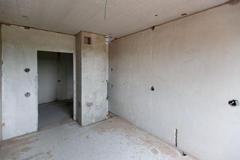 Ремонт квартир в новостройке СПб - Квартира без отделки