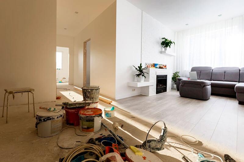 Ремонт двухкомнатной квартиры в СПб