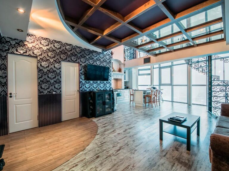 Ремонт двухуровневой квартиры в СПб